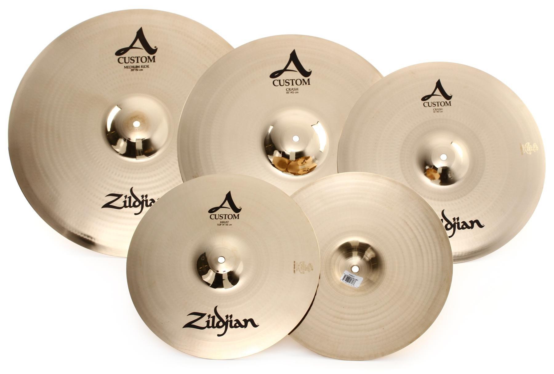 A Custom 5 Cymbal Set-up A20579-11