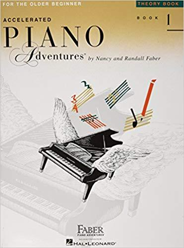 Accelerated Piano Adventures for the Older Beginner: Theory Book 1 Paperback