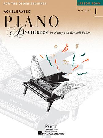 Accelerated Piano Adventures: Lesson- Book 1