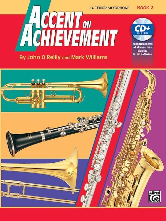 Accent on Achievement Book 2 [B-Flat Tenor Saxophone]