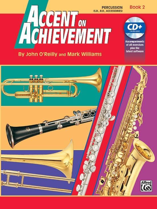 Accent on Achievement Book 2 [Percussion]