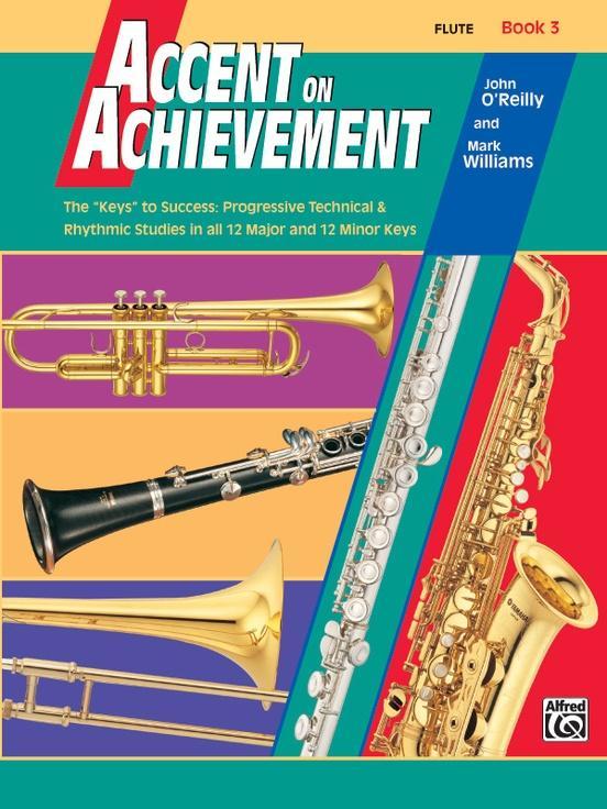 Accent on Achievement Book 3 [Flute]