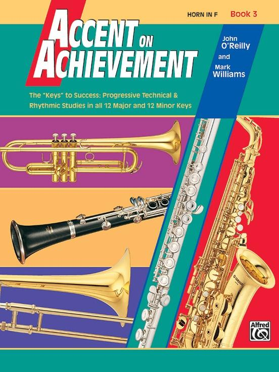 Accent on Achievement Book 3 [Horn in F]