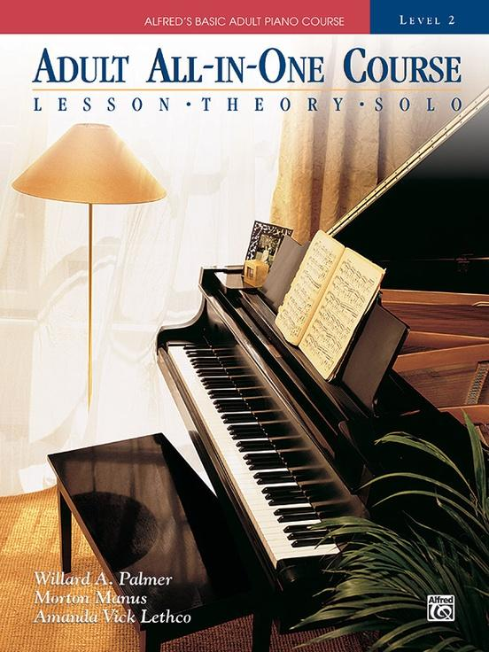 Adult All-In-One Course Level 2 Piano