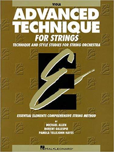 Advanced Technique for Strings: Viola