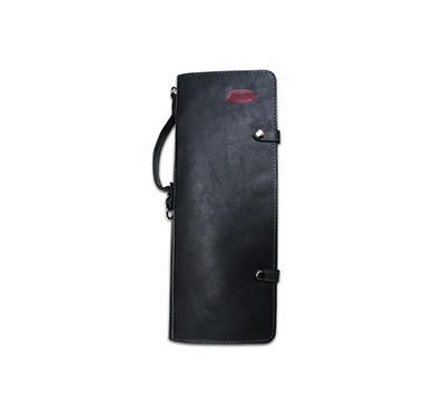 Ahead Handmade Leather Stick Case Black