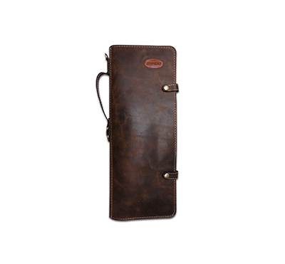 Ahead Handmade Leather Stick Case Brown