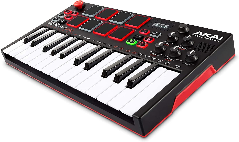 Akai MPK Mini Play Midi Controller Keyboard with Sound