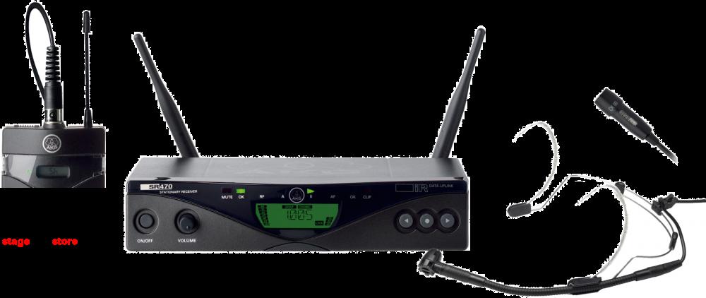 AKG WMS470 Wireless Microphone