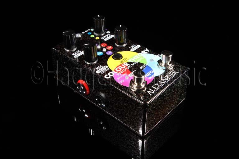Alexander Color Theory Spectrum Sequencer