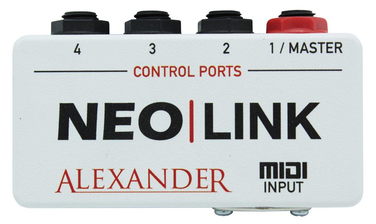 Alexander Neo Link Midi Interface Pedal - Floor Model Demo