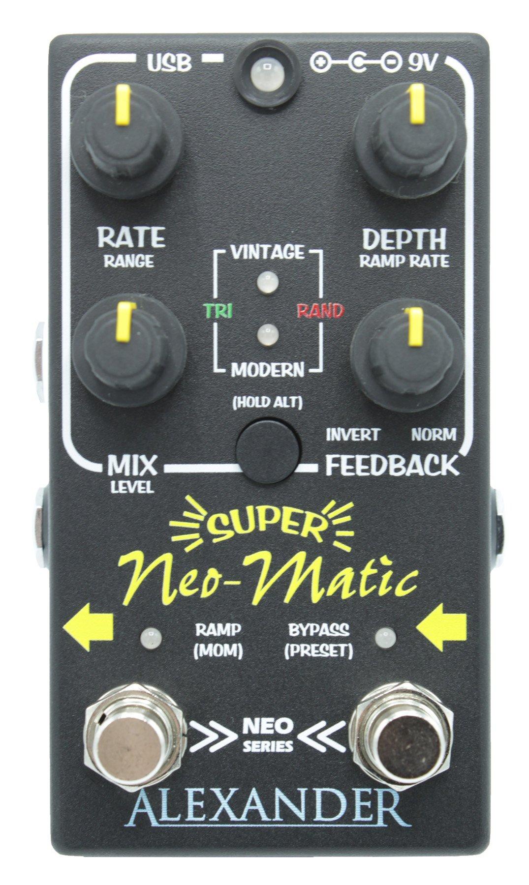 Alexander Super Neo-Matic Digital Time Modulator - Floor Model Demo