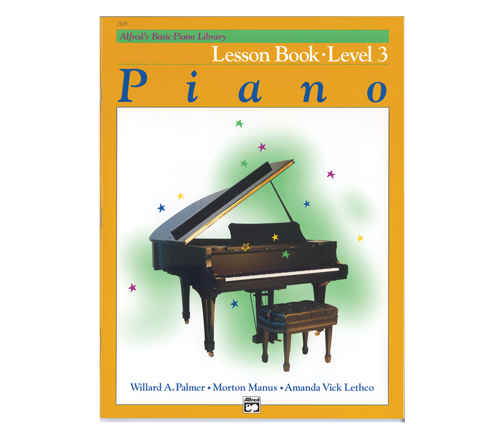 Alfred Alfreds Basic Piano Library: Lesson Book Level 3