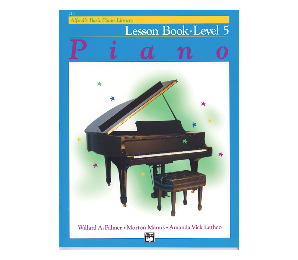 Alfred Alfreds Basic Piano Library: Lesson Book Level 5