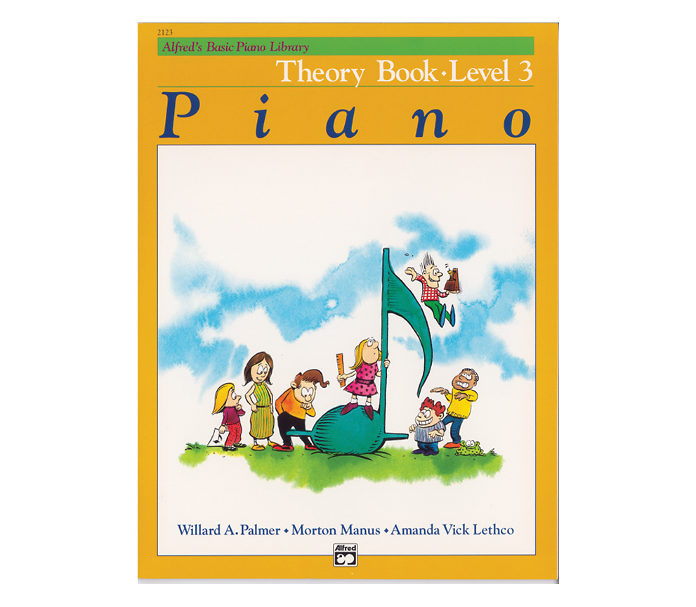 Alfred Alfreds Basic Piano Library: Theory Book Level 3
