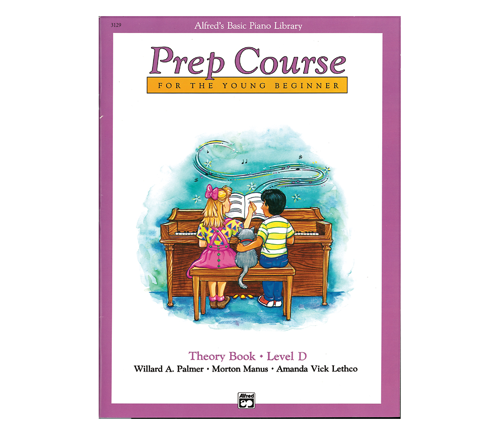 Alfred Alfreds Basic Piano Prep Course Theory Book D