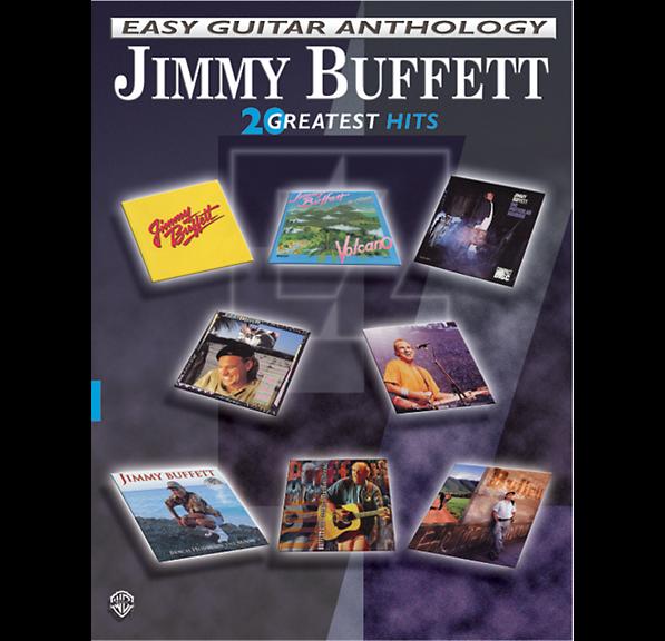Alfred Jimmy Buffett Easy Guitar Anthology book