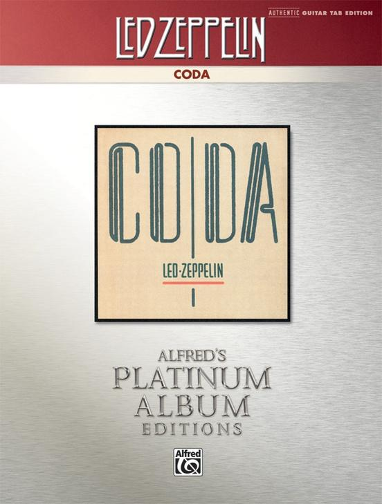 Alfred Led Zeppelin CODA Tab Book