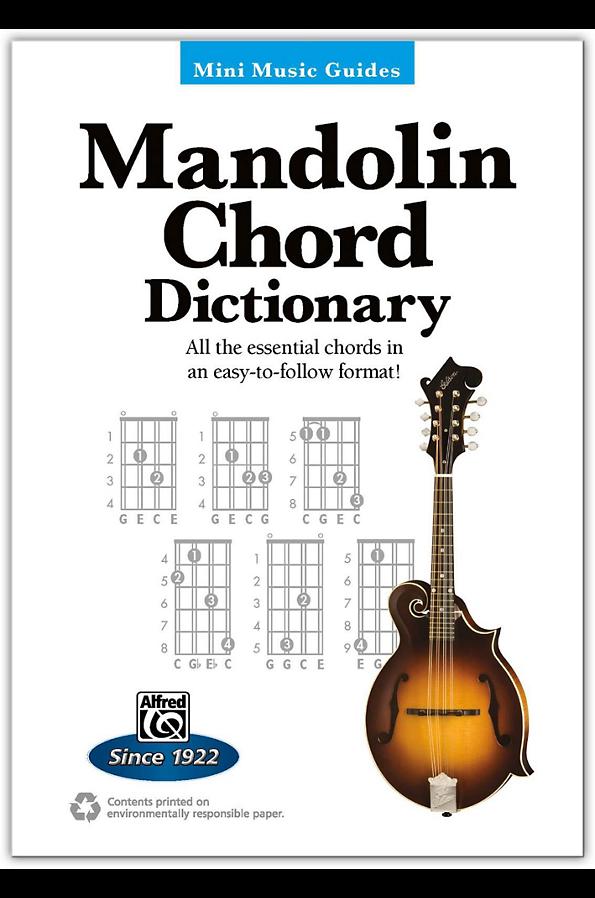 Alfred Mini Music Guides: Mandolin Chord Dictionary Book