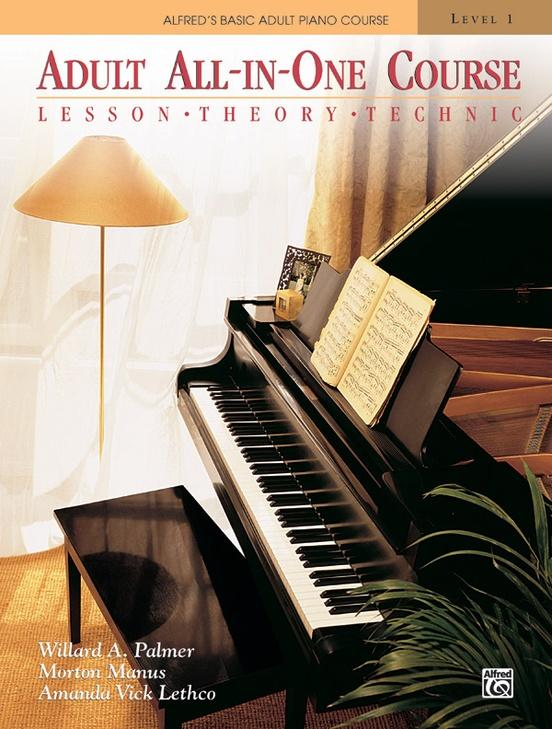 Alfreds Adult All-In-One Piano Course Level 1