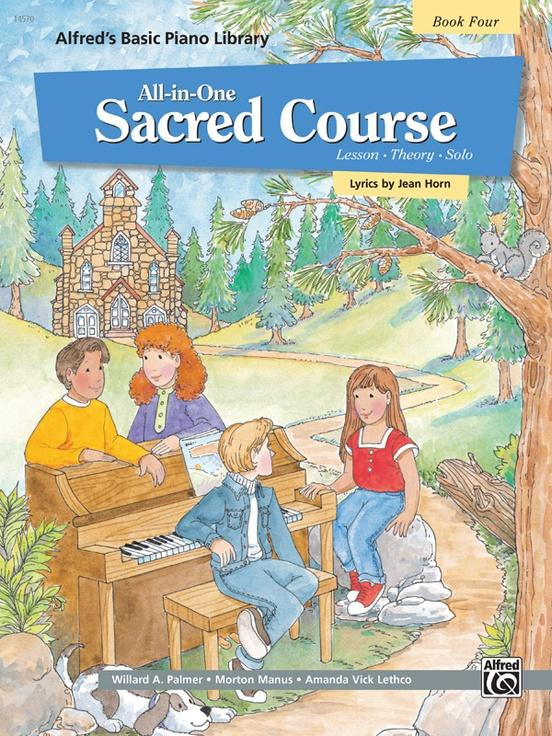 Alfreds Basic All-in-One Sacred Course Book 4