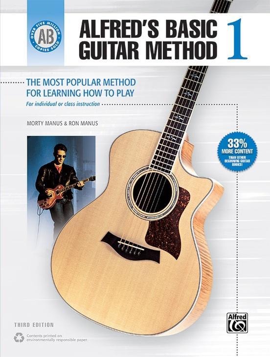 Alfreds Basic Guitar Method 1 (3rd Edition)