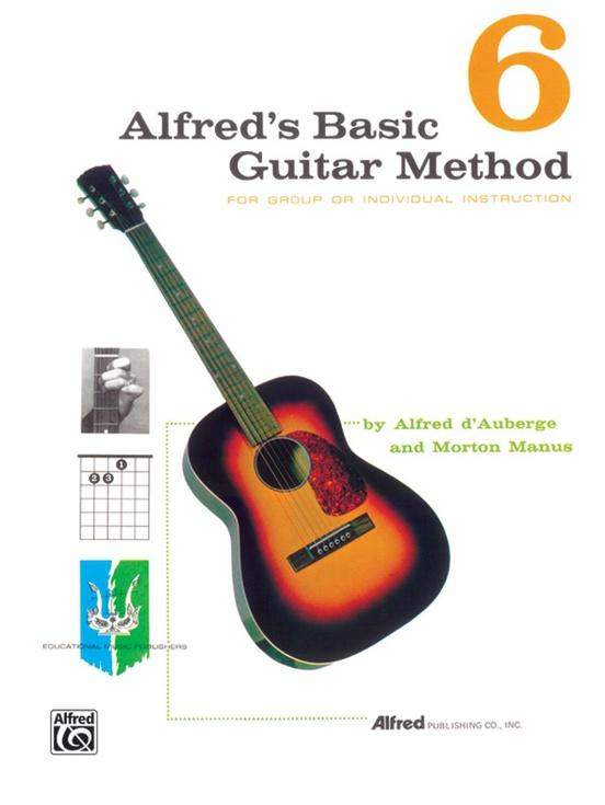 Alfreds Basic Guitar Method 6 [Guitar]