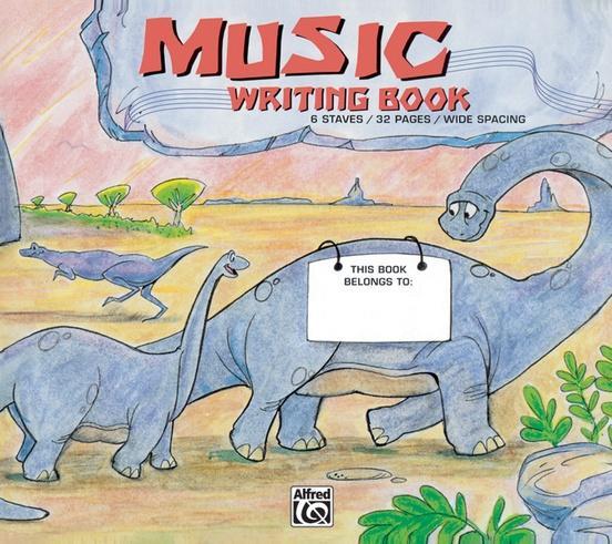 Alfreds Basic Music Writing Book