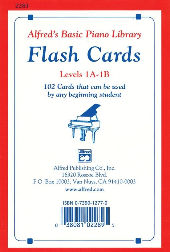 Alfreds Basic Piano Course: Flash Cards