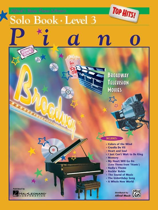Alfreds Basic Piano Course: Solo Book Top Hits-Level 3