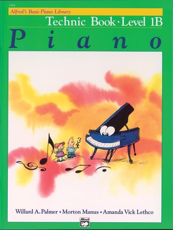 Alfreds Basic Piano Course: Technic Book-Level1B