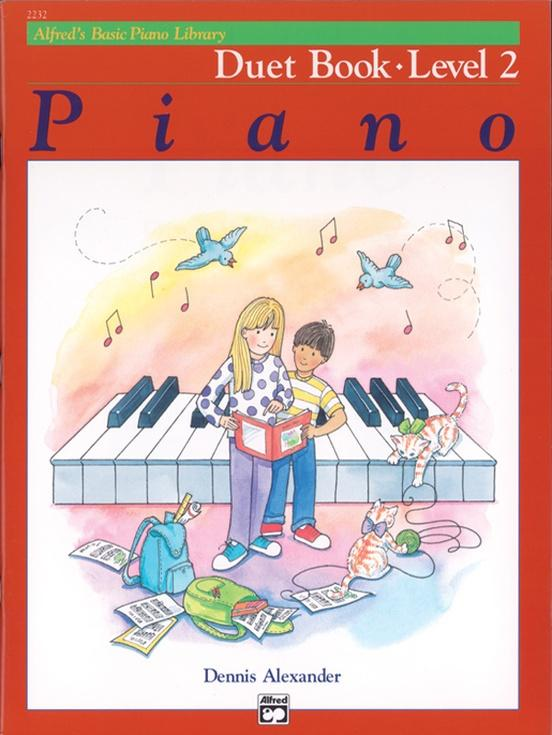 Alfreds Basic Piano Library Duet Book - Level 2