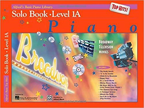 Alfreds Basic Piano Library Top Hits! Solo Book Bk 1A Paperback