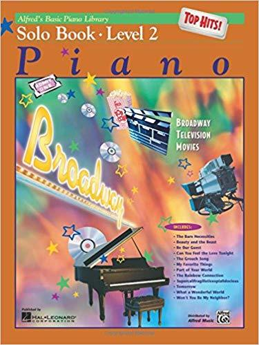 Alfreds Basic Piano Library Top Hits! Solo Book Level 2