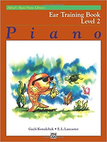 Alfreds Basic Piano Library: Ear Training Book Level 2