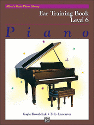Alfreds Basic Piano Library: Ear Training Level 6