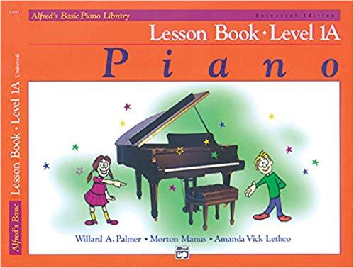Alfreds Basic Piano Library: Lesson Book Level 1A