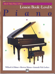 Alfreds Basic Piano Library: Lesson Book Level 6