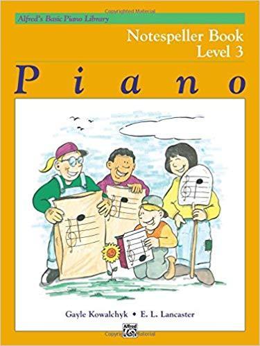 Alfreds Basic Piano Library: Notespeller Book Level 3