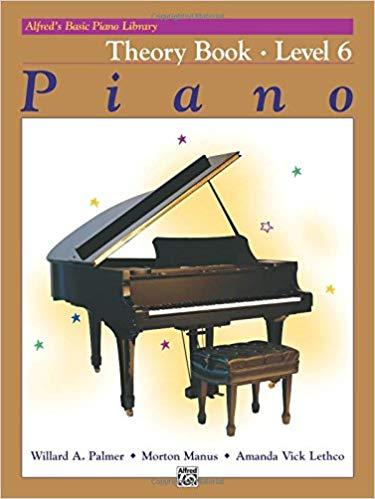 Alfreds Basic Piano Library: Piano Theory Book Level 6