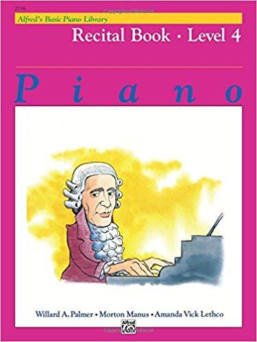Alfreds Basic Piano Library: Recital Book Level 4