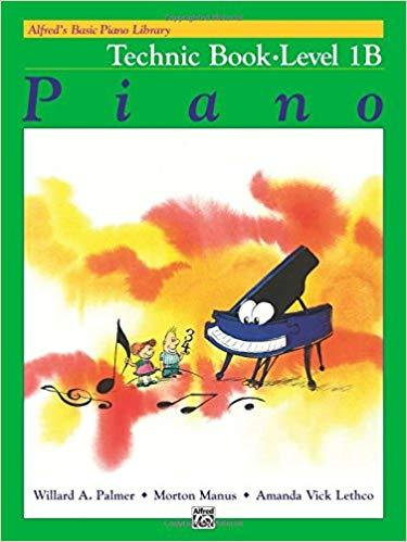 Alfreds Basic Piano Library: Technic Book Level 1B