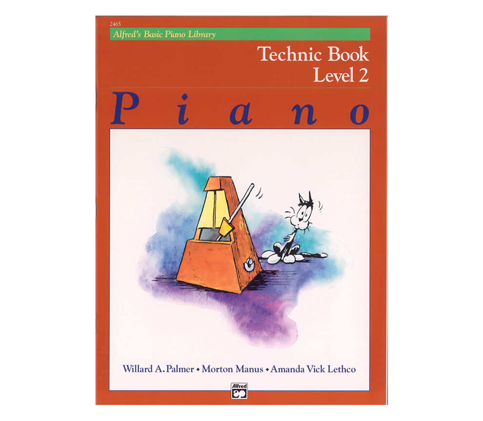 Alfreds Basic Piano Library: Technic Book Level 2
