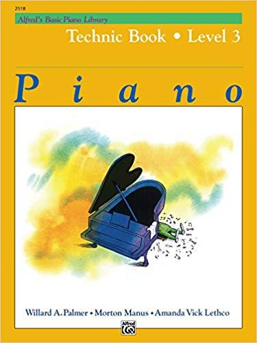 Alfreds Basic Piano Library: Technic Book Level 3