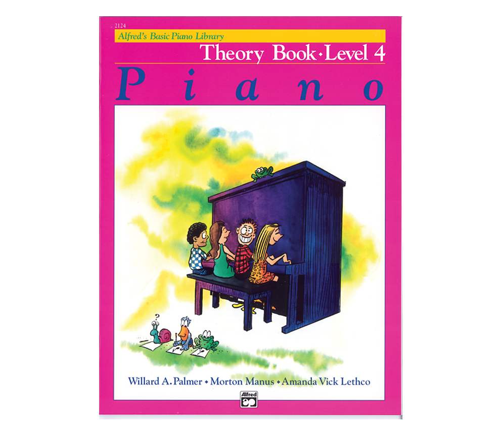Alfreds Basic Piano Library: Theory Book Level 4