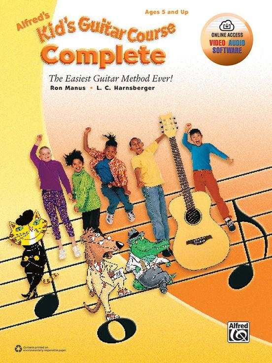 Alfreds Kids Guitar Course Complete