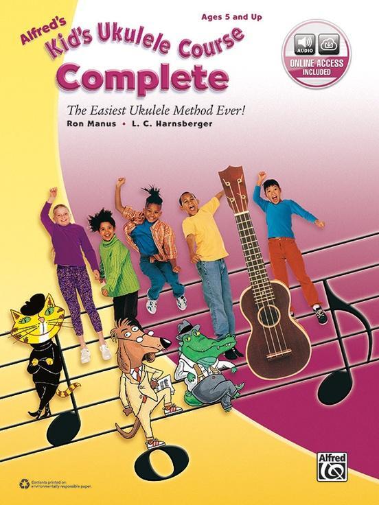 Alfreds Kids Ukulele Course Complete