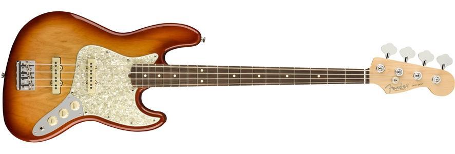 American Professional Jazz Bass Lightweight Ash