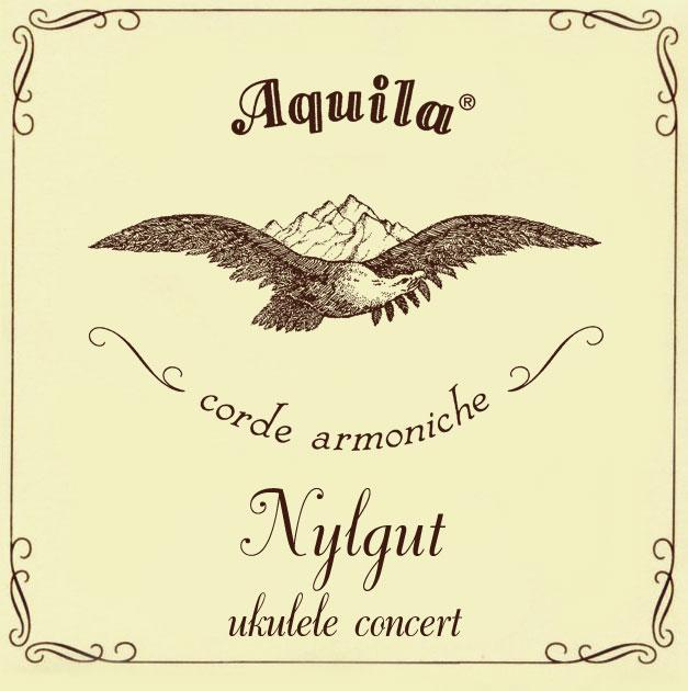 Aquila 8U Nylgut Ukulele Strings Concert Low G