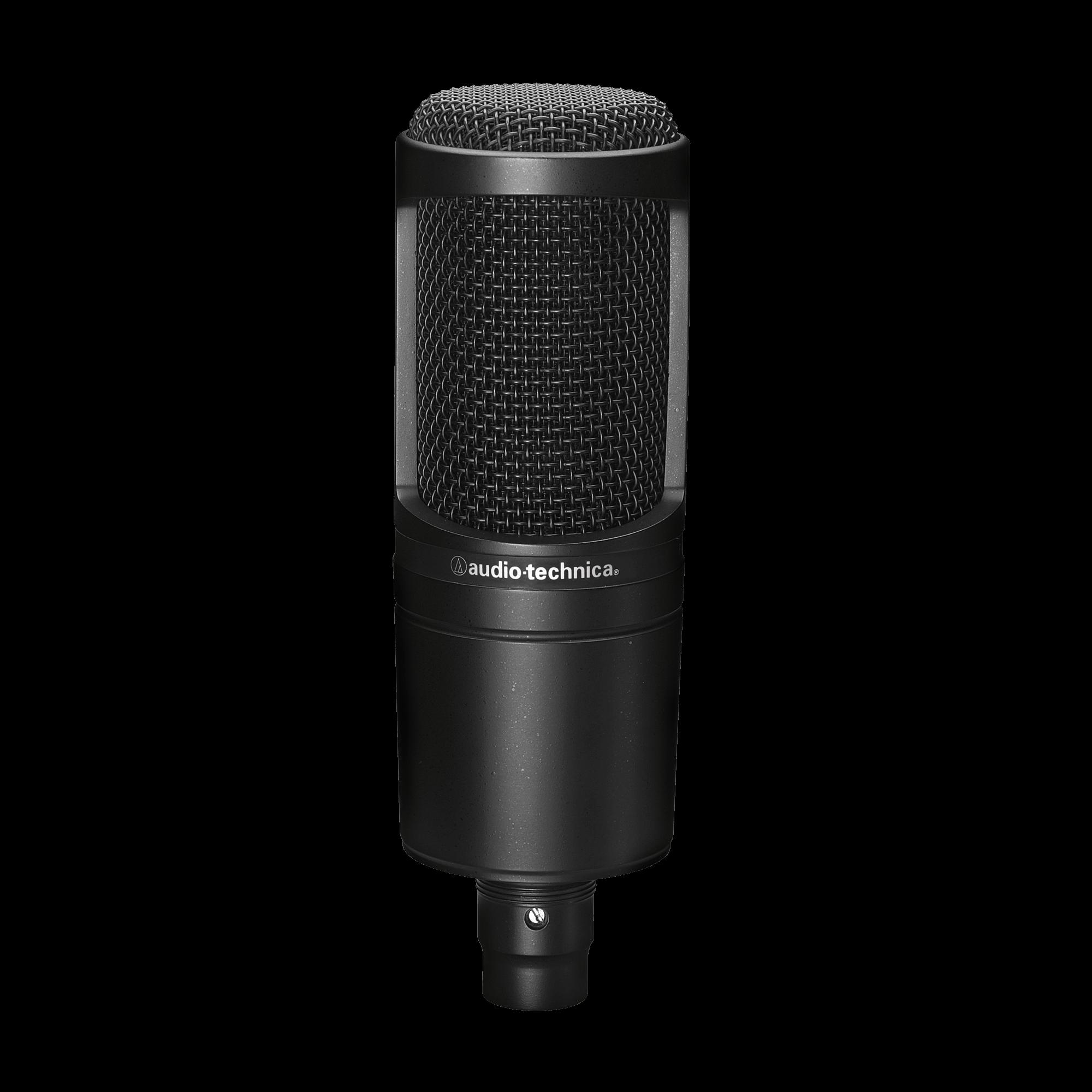 Audio Technica AT2020 Cardioid Large Diaphragm Condenser Microphone